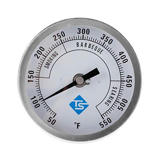 circulor-123 Termómetros para Barbacoas, BBQ Grado Horno Leña Bimetálico Y Horno Barbacoa Termómetro Analógico Temperatura para Ahumadores Barbacoa Asador