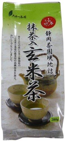 大井川茶園 お茶ひとすじ 抹茶入り玄米茶 200g×2個