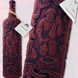 キンズマラウリ サペラヴィクヴェヴリ 陶器ボトル ワイン発祥の地、ジョージアの希少な陶器ボトル 赤ワイン 750ml ミディアムボディ やや辛口