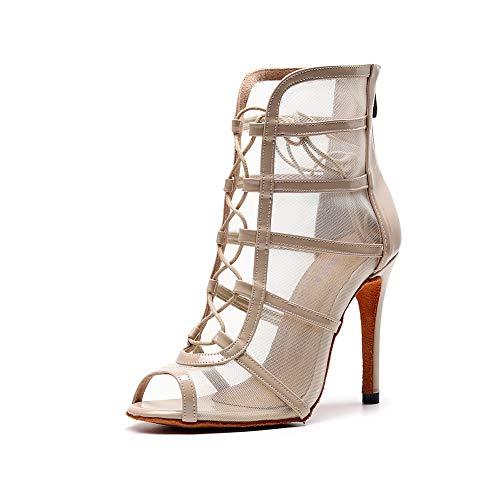 HROYL Zapatos de Baile para Mujeres y niñas Zapatos de Baile de...