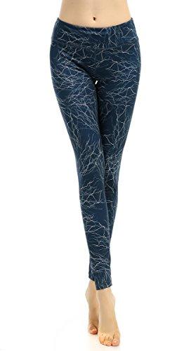 Funycell Women's Yoga Pants Workout Running Leggings DL 082 Medium