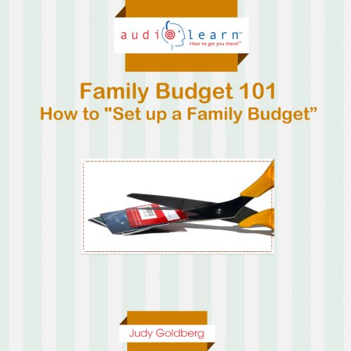 How to Set Up a Family Budget audiobook cover art
