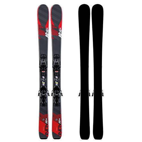 K2 Skis Indy 4.5 FDT JR Black SET-100 cm-10D0808.209.1.100 - Set da Sci con attacchi, 100 Pezzi