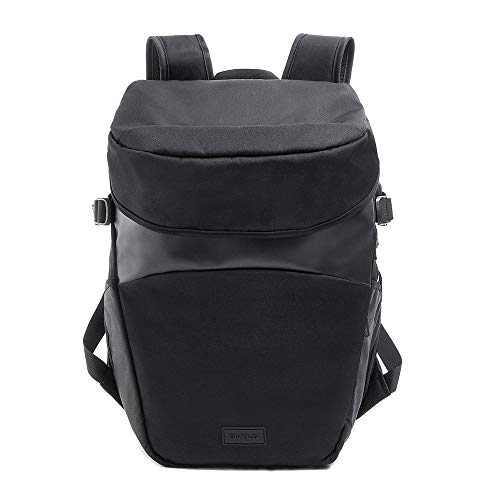 Crumpler Creator's Life Hack Camera Backpack CRE-LHBP-01-001 Made of Recycled Pet - Mochila multifunción para portátiles de 13' (7,9', 25 L), Color Negro