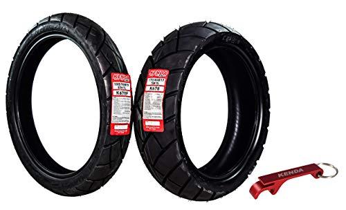 Kenda Big Block Paver Dual Sport Motorcycle Tires 100/90B19 Front 170/60B17 Rear 100/90-19 170/60-17