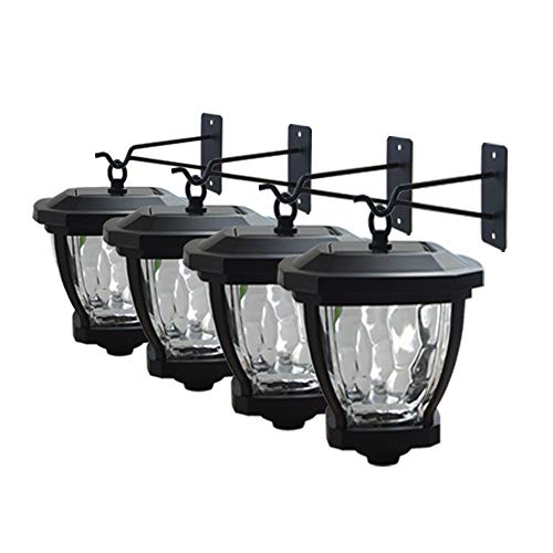 LED Solar Lights Perfect for Fence Posts $12.00 (80% OFF Coupon)