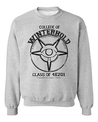 BakoIsland Winterhold College Graduate Unisex Sweatshirt Sweater Jumper Medium