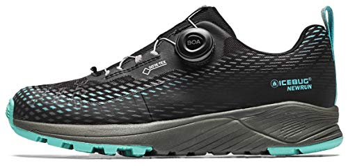 Icebug NewRun W RB9 GTX - Zapatillas de correr para mujer, color Negro, talla 40.5 EU