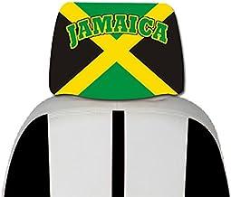 "NEW Jamaica Flag Mini Banner 4/"" x 6/"" w// Suction Car Window Decoration Yellow Rim"
