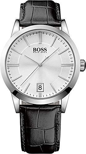 Hugo Boss Herren-Armbanduhr Analog Quarz Leder 1513130