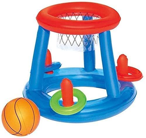 NLRHH Plegable Piscina, Agua colchón Inflable, Piscina flotadores, Juguetes de Playa inflables, Juguetes del Partido Fila Voleibol en la Piscina Padre-Hijo Flotante Inflable de los niños Peng