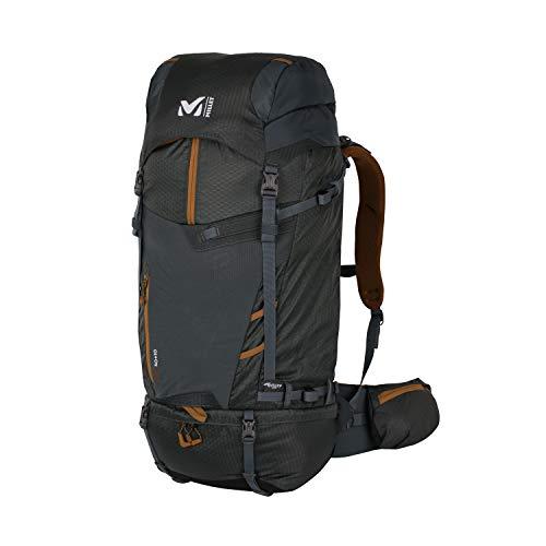 MILLET - Ubic 50 + 10 - Rucksack für Herren und Damen - Wandern, Langlauf und Trekking - Ausdehnbares Volumen 50 + 10 L - Urban Chic (Kaki)