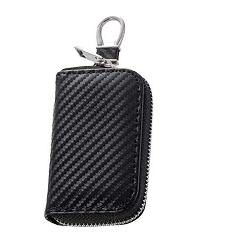 Zhangjie Premium Car Key Case Anti-Theft Faraday Cage Protector Car RFID Signal Blocker Anti-Hacking Case GPS Signal Blocking Box For Key Fob