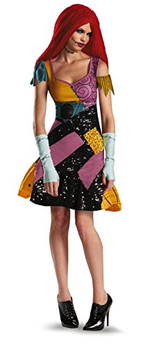 Disguise Tim Burtons The Nightmare Before Christmas Sally Glam Erwachsenenkostüm - Mehrfarbig - X-Large (18-20) US