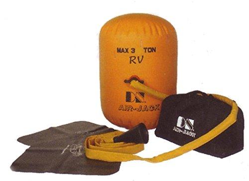 Air Jack - Cric gonfiabile per autoveicoli/fuoristrada, supporta 3 t