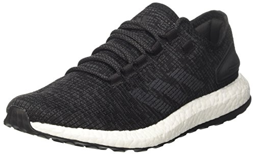 adidas Men's Pure Boost Running Shoes, Black (Negbas/Grpudg/Negbas), 6.5 UK