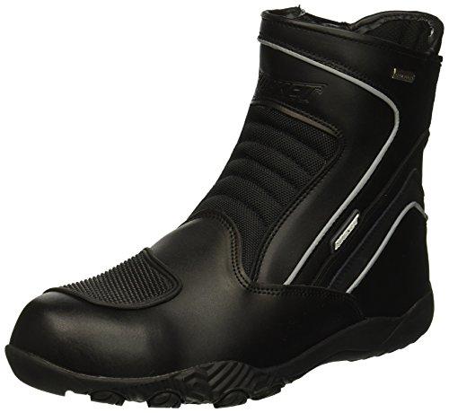 Joe Rocket 1519-0011 Men's Meteor FX Mid Leather Motorcycle Riding Boot (Black, Size 11)