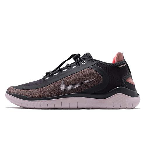 Nike Damen Free Rn 2018 Shield Laufschuhe, Grau (Oil Grey/Metallic Silver-Smoke 001), 36 2/3 EU