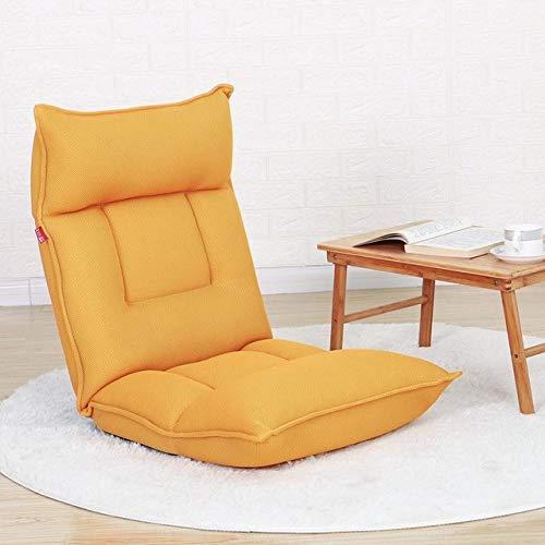 OPXZPM sofá Perezoso Lazy Couch Tatami Plegable Habitación Individual Balcón Sofá pequeño Cama Linda Sofá con Respaldo para niña Silla, Estilo 6