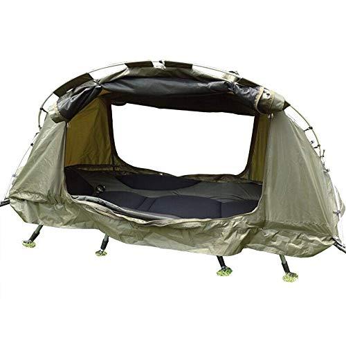 Tienda 4 Temporada Off Tienda de tierra Tienda de doble capa Camping Cuna Cuna Cuna de pesca al aire libre para 1 persona Pesca de invierno Camping para el camping para al aire libre Senderismo (Color