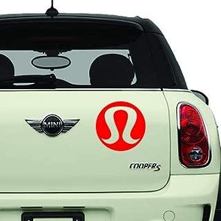Lululemon Red SK8/Surf/Snow/Water/Bike/Brands Automotive Decal/Bumper Sticker