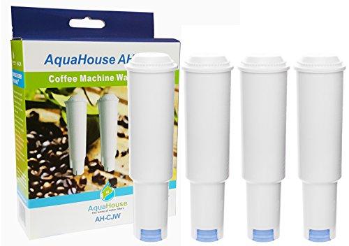 4x AH-CJW Wasserfilter Patronen Kompatibel für Jura Kaffeemaschinen bis Baujahr ´09 *Ausgenommen ENA/Blue