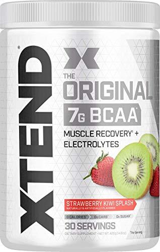 XTEND Original BCAA Powder Strawberry Kiwi Splash | Sugar Free Post...