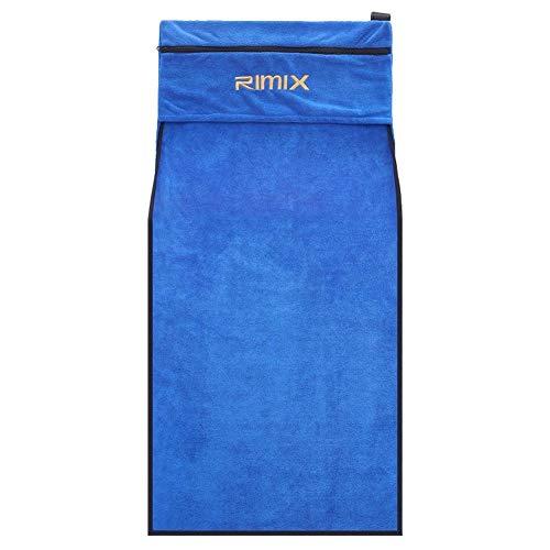 Microvezel Handdoeken, Soft Gym Sport met Rits Handdoek, De handdoek wordt geleverd met een lederen sterke magneet sticker, Voor Yoga Gym Veeg Down Sweat Handdoek