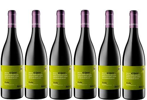 Sicilia Bedda - ZIBIBBO SECCO AL QASAR' Rallo' SICILIA DOC - VINO 100% BIOLOGICO - 75 Cl. (6 Bottiglie)