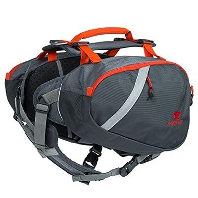 Mountainsmith K-9 Dog Pack, Medium Hiking Pack (Lava Red)