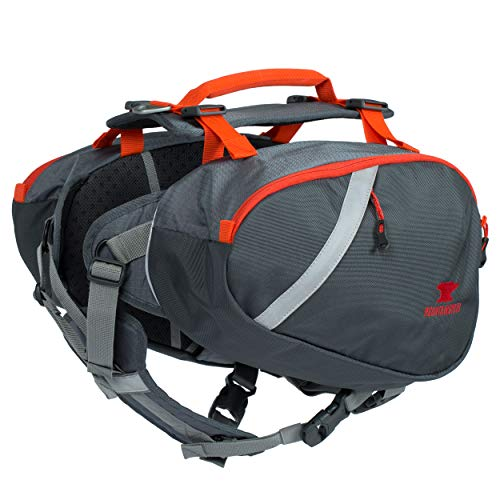 Mountainsmith K-9 Dog Pack, Large Hiking Pack (Lava Red)