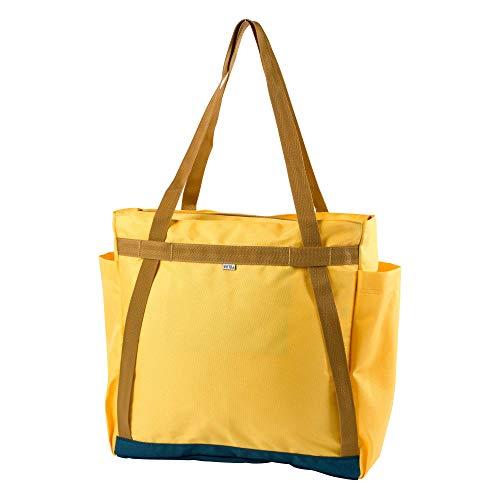 POLER Damen Schultertasche Bag Totes Pack, Golden Rod, 50 x 40 x 6 cm, 17 Liter