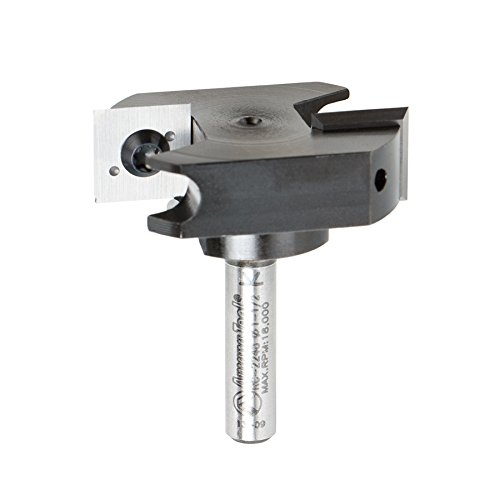 Amana Tool RC-45711 In-Tech Insert Carbide V Groove 90 Deg x 11//16 D x 21//64 CH x 1//4 Inch SHK Router Bit