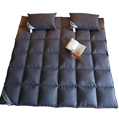Hotel de 5 Estrellas por colchón,Acolchado Plegable Pinzas,Tatami Simmons Almohadilla Protectora-A 150x200cm(59x79inch)