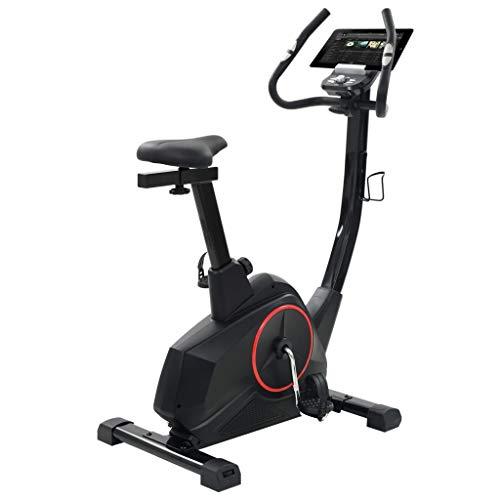 vidaXL Heimtrainer mit Pulsmessung Programmierbar Cardio Ergometer Hometrainer