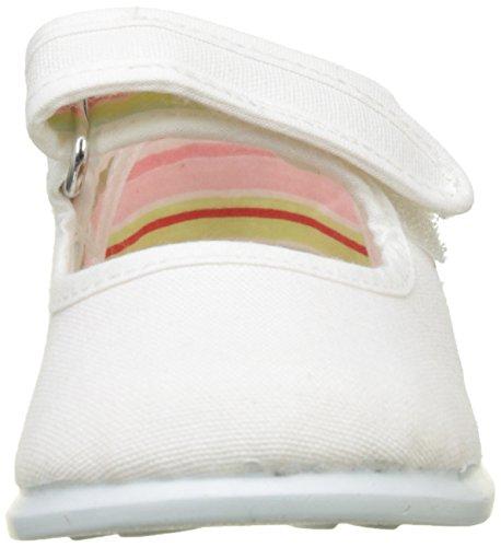Victoria Mercedes Velcro Lona, Zapatillas Unisex Niños, Blanco, 22 EU