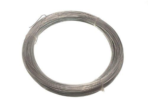 Lot de 10 500 g en poids galvanisé clôture de jardin fil 0,9 mm 100 Mètres
