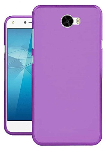 Todobarato24h Funda TPU Lisa Compatible con Huawei Y6 II Compact / Y5 II 2016 Morada