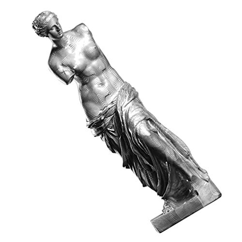 Holibanna Estatuilla de La Diosa de La Resina Estatua de La Diosa del Brazo Roto Escultura de La Diosa para La Decoración de La Sala de Estar de La Oficina del Hogar