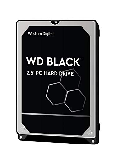 WD Black 500GB Performance Mobile Hard Disk Drive - 7200 RPM SATA 6 Gb/s 32MB Cache 7 MM 2.5 Inch -...