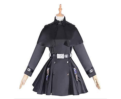 BCOGG 2018 Nuevo Juego japons Fate Grand Order Mash Kyrielight Disfraz de Cosplay Devil Saber Evil Trajes Cosplay Disfraces XXL como se Muestra