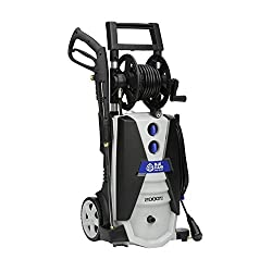 AR Blue Clean AR390SS 2000 psi Electric Pressure Washer with Spray Gun  Wand 30 Hose & 35 Power Cord  Blue Review