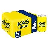 Kas Limón - Bebida Refrescante, lata 33 cl (Pack de 9)