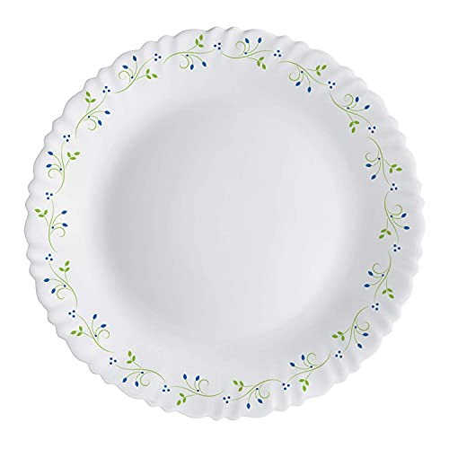 Cello Opalware Dazzle Tropical Lagoon Dinner Set, 13Pcs, White