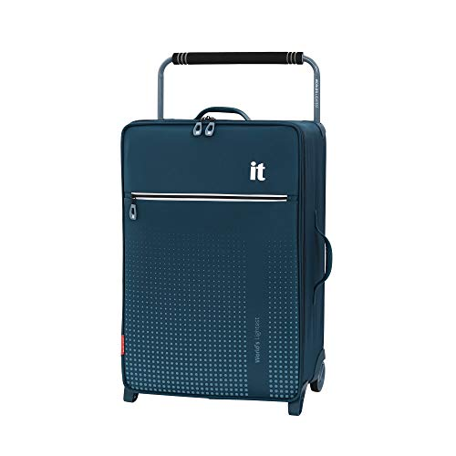 it luggage World's Lightest Vitalize 2 Wheel Super Lightweight Suitcase, Blue, 70 cm