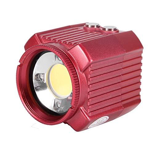 XINL Linterna de Buceo, luz de Flash de cámara Impermeable, 2000 LM para Senderismo o Uso doméstico para Actividades al Aire Libre Camping, Viajes, Pesca, Escalada, Picnic