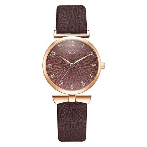 yuge Reloj para Mujer Conjunto de Pulsera Flor Reloj de Pulsera para...