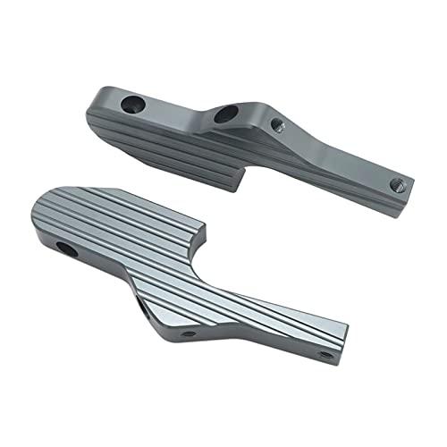 ZHAOHUA wuli Store Extensiones DE PEAD DE PASEJERO Extensiones AJUSTES Ajuste for Vespa GT GTS GTV 60 125 150 200 250 300 30 0ie (Color : Titanium)