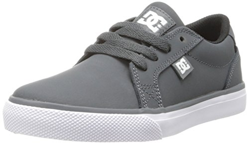 DC DC Jungen Council NU Skateboardschuhe, Grau (Dark Shadow - DSD), 36.5 EU (4.5 Kinder UK)