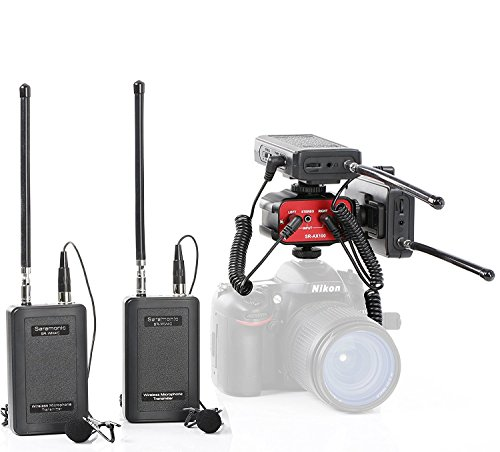 saramonic Wireless VHF Dual LAV System Kit With Default Mixer